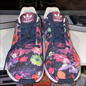 Floral Adidas Sneakers